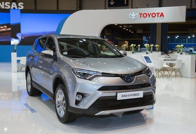 3d0284dde8a Los híbridos de Toyota recorren más de 1.000 kilómetros en modo eléctrico  durante Madrid Auto 2018