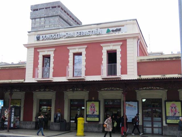Estación de tren de San Sebastián