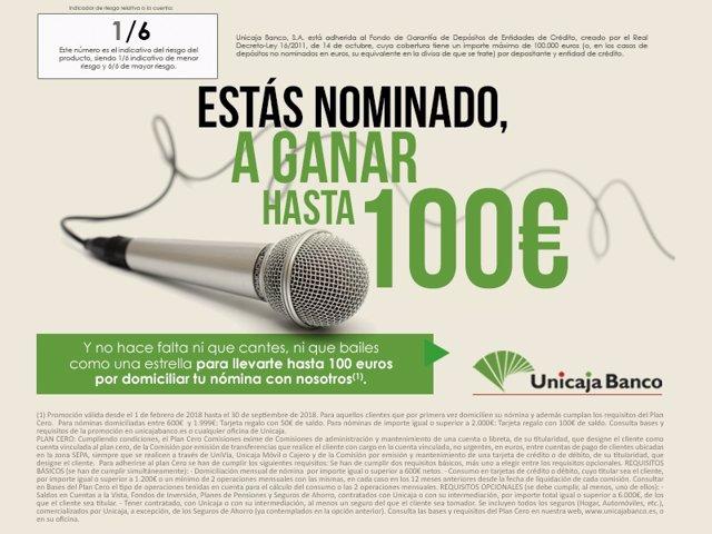 Unicaja ofrece ventajas a los clientes que domicilien su nómina por ...