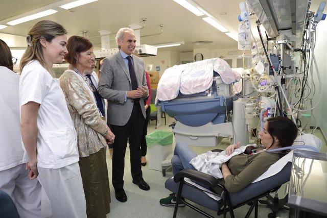 Primera sala familiar hospitalaria en La Paz