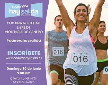 Madrid correrá contra la violencia de género el próximo 10 de junio