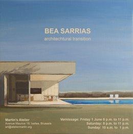Exposición de la pintora Bea Sarrias en Bruselas