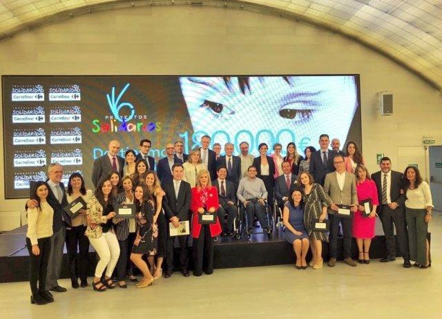 Carrefour y su Fundación donan 180.000 euros a 6 ONG para mejorar la calidad de