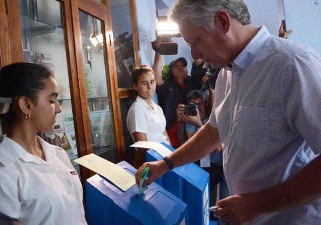Miguel Díaz-Canel, candidato a la presidencia de Cuba