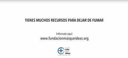 La Fundación Más Que Ideas lanza la campaña '¿Y tú? ¿Qué tipo de fumador eres?' para instar a dejar el tabaco
