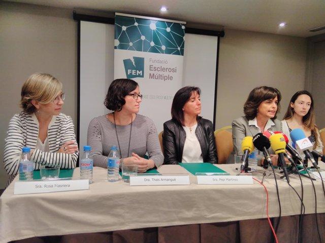 Rosa Masriera, Thaís Armangué, Pepi Martínez, Mar Tintoré y Carla Herrero