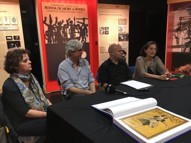 Presentació de  'Cartells catalans. Òpera, teatre i espectacles 1890-2015'