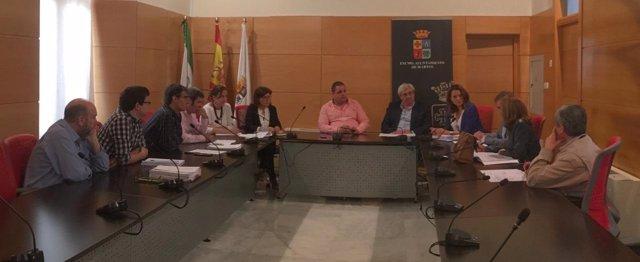 Reunión de la comisión política-técnica