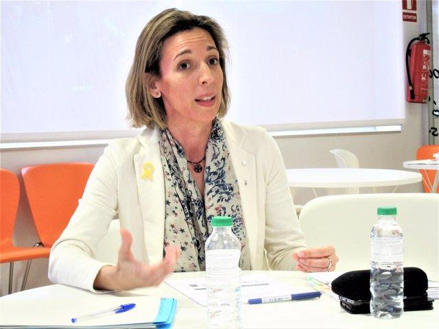 La directora general d'Indústria de la Generalitat, Àngels Chacón
