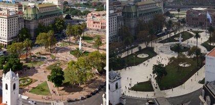 Ya está lista la nueva Plaza de Mayo de Buenos Aires