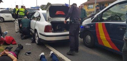 Siete detenidos por el atraco a una joyería en Ordes (A Coruña)