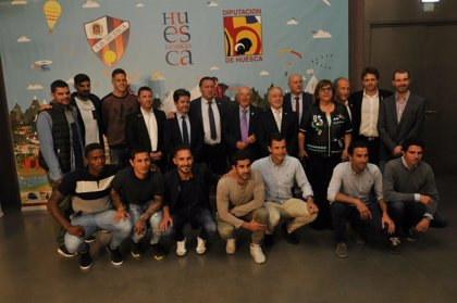 El presidente de la DPH afirma que la SD Huesca contribuirá a dar visibilidad al territorio altoaragonés