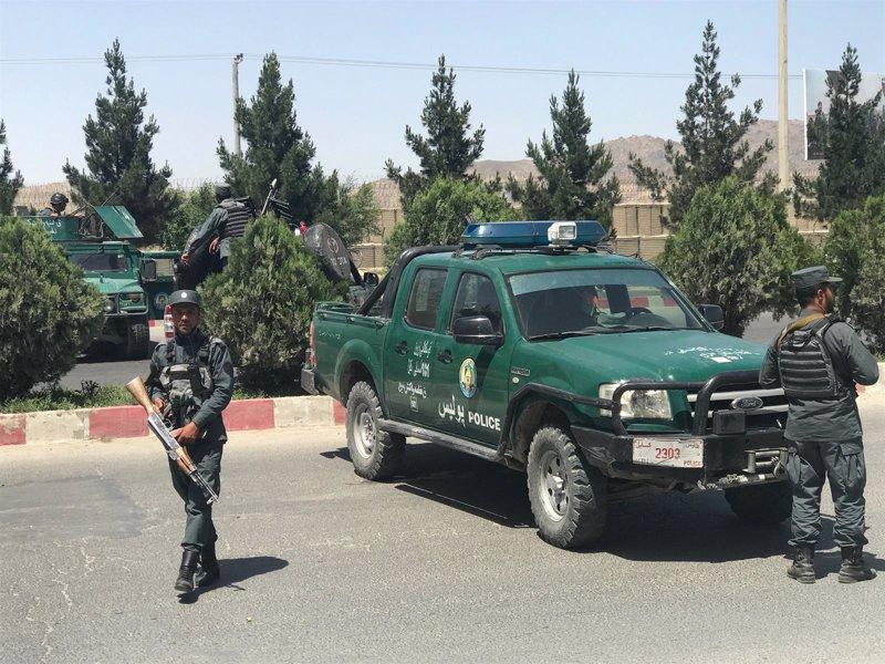 Una explosi n sacude los alrededores del ministerio de for Ministerio del interior donde queda