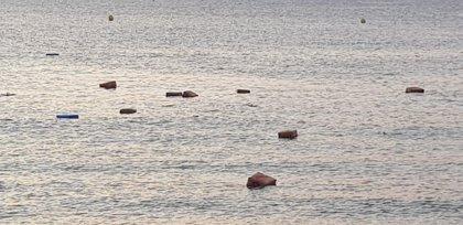 Dos detenidos tras abortar un alijo de tres toneladas de hachís en una playa de Algeciras (Cádiz)