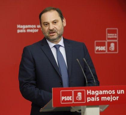 José Luis Ábalos presentará ante el Pleno del Congreso la moción de censura de Pedro Sánchez