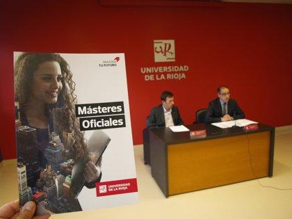 La UR abre este viernes el plazo ordinario para admisiones para el curso 2018-2019 para Escuela de Máster y Doctorado
