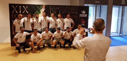 Más de 500 efectivos de toda España participan en Mérida en el XIX Campeonato de Fútbol 7 para Bomberos
