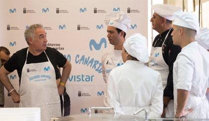 """Ferran Adrià considera que la gastronomía de Tenerife """"ni en película"""" ha vivido mejor momento que el actual"""