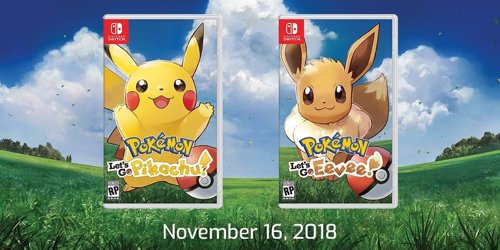 Pokemon Let S Go Pikachu Y Let S Go Eevee Llegaran A Nintendo Switch