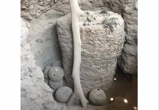 Momia de Pachacamac