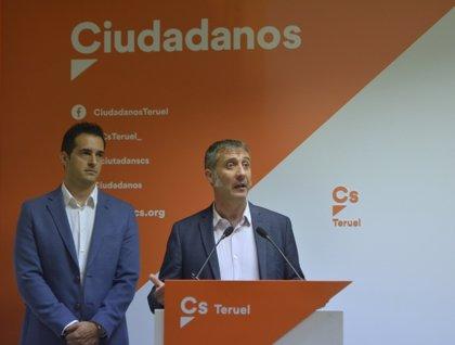 """Cs está preparado para gobernar """"y va a seguir creciendo en la provincia de Teruel"""", afirma el diputado Ramiro Domínguez"""