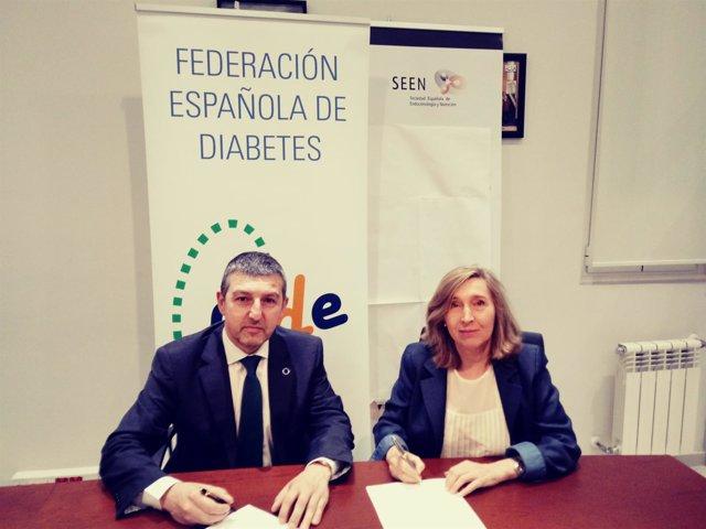 Acuerdo entre la Federación de Diabetes y la Sociedad Española de Endocrinología