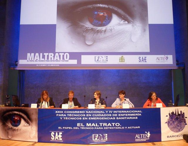 Neus Rams, Candela Calle, Carme Borrell, María Dolores Martínez y Tània Riera