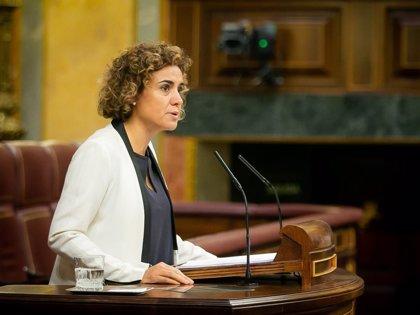 """Montserrat tacha de """"sin sentido"""" su reprobación porque el Gobierno """"está al lado"""" de las víctimas de violencia machista"""