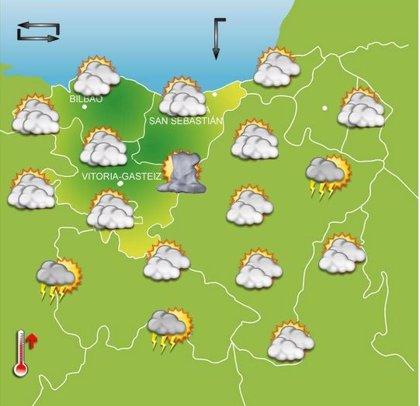 Previsiones meteorológicas del País Vasco para hoy, día 31