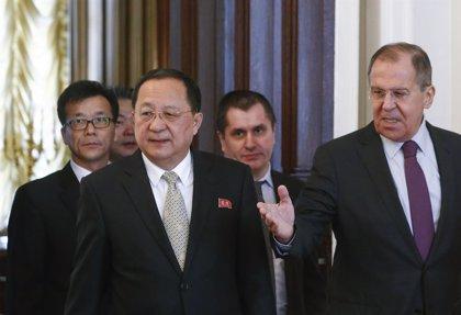 Lavrov celebra las conversaciones entre las dos Coreas y aboga por un levantamiento gradual de las sanciones