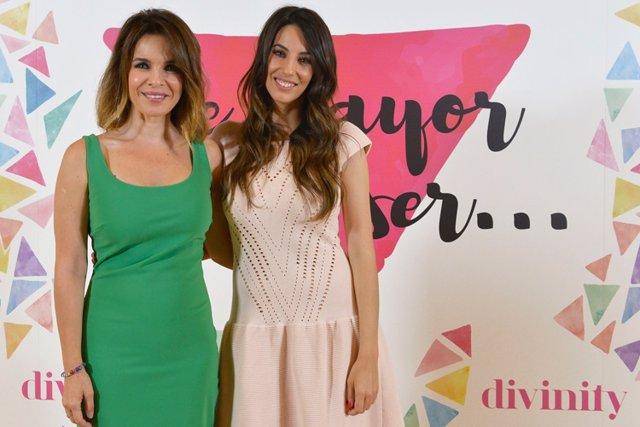 Carme Chaparro y Almudena Cid
