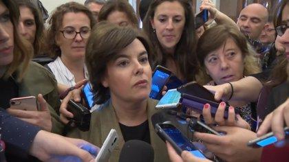 """Santamaría apela al PNV a """"reflexionar con la seriedad y grandeza que requiere el momento"""""""