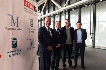 Alcalde y presidente de la Diputación de Málaga 'presentan' LaVuelta 2018 en los Desayunos de EP Andalucía