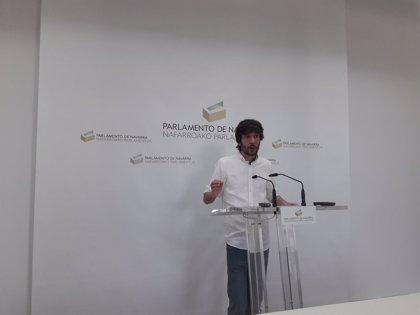 Buil insiste en que hace falta unanimidad para cambiar el nombre del grupo Podemos y que pedirán informe jurídico