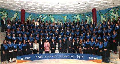 CESINE celebra su XXII Graduación de titulados universitarios