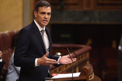 """Pedro Sánchez a Rajoy: """"Dimita y esta moción de censura habrá terminado aquí y ahora"""""""