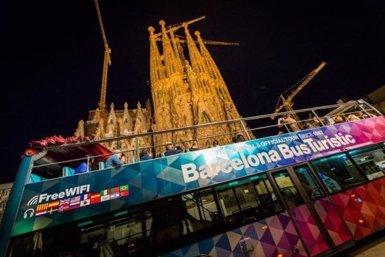La ruta nocturna del Barcelona Bus Turístic comença nova temporada (TMB)