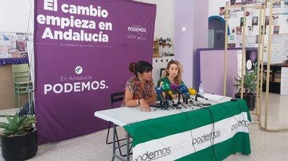 """Teresa Rodríguez espera que """"triunfe"""" la moción de censura y Andalucía establezca nueva relación con el nuevo gobierno"""