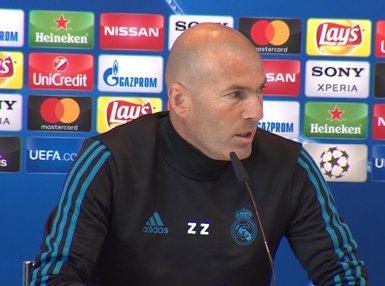 Zinédine Zidane anuncia la seva marxa del Reial Madrid (Europa Press)