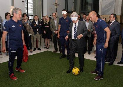 Un total de 130 jugadores ciegos disputarán en Madrid el Mundial de Fútbol