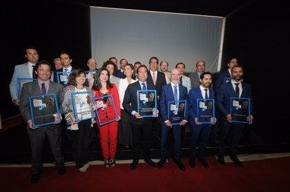 Entregan en Jabugo los premios 'Empresarios del Año' y destacan el potencial de los sectores onubenses