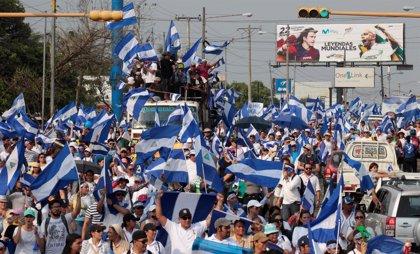 La Eurocámara condena la represión en Nicaragua y pide elecciones