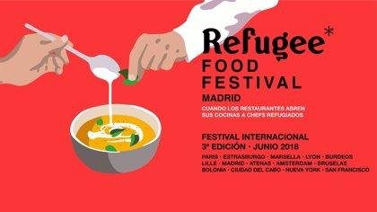 Platos cocinados por chefs que han tenido que salir de sus países para celebrar el Día Mundial del Refugiado