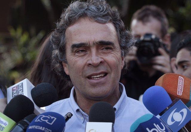 El político colombiano Sergio Fajardo
