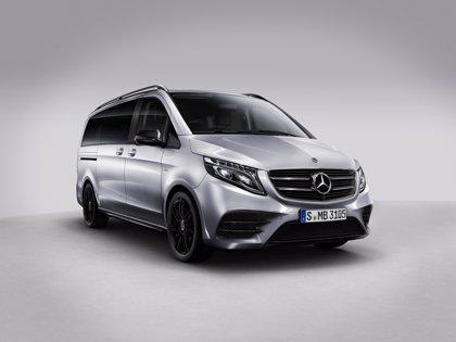 Mercedes-Benz lanza en junio la nueva versión Night Edition del Clase V, fabricado en España