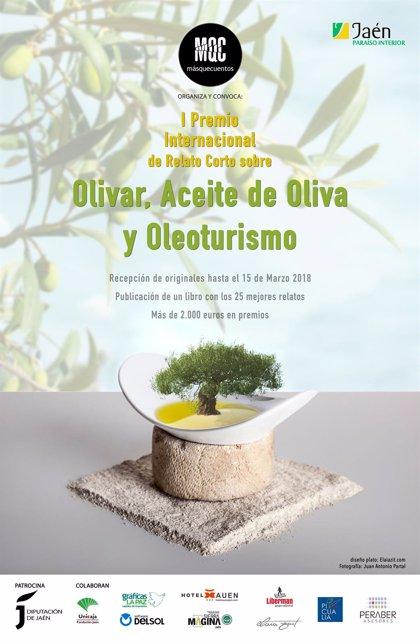 Manuel Cobos gana el I Premio Internacional de Relato Corto sobre Olivar, Aceite de Oliva y Oleoturismo
