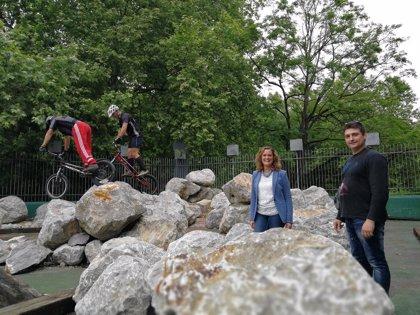 Barakaldo pone en marcha el primer 'Trial Park' municipal de Bizkaia
