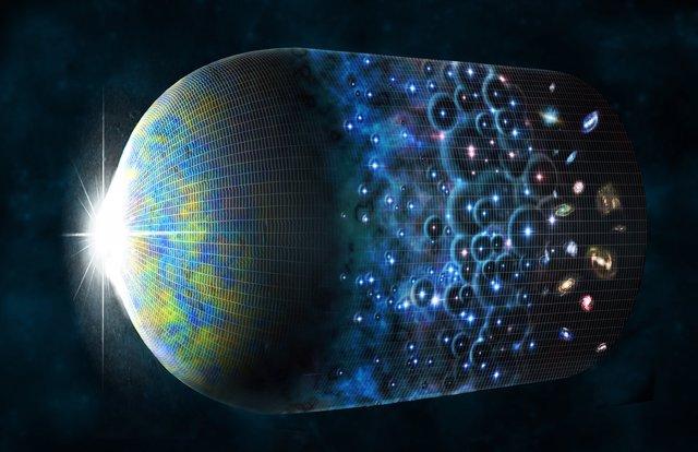 Recreación de la evolución del Universo