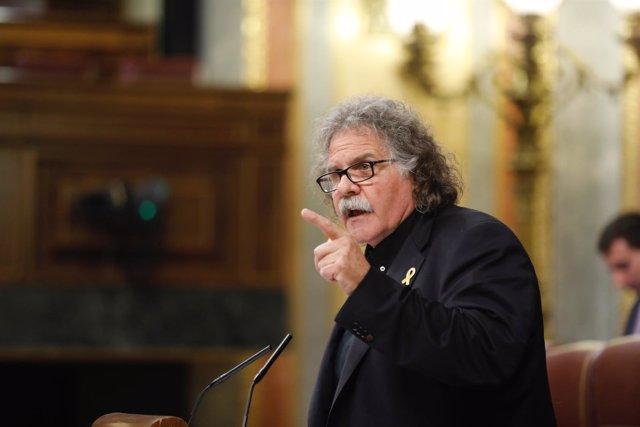 Joan Tardá en la moción de censura a Rajoy