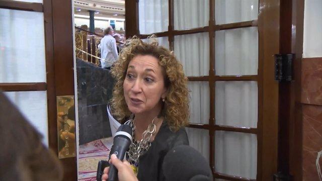 La diputada de ERC, Ester Capella, en el Congreso de los Diputados